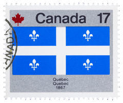 Quebec Stamp