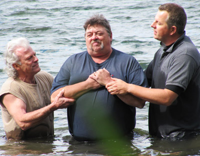 Baptism in Chemong Lake